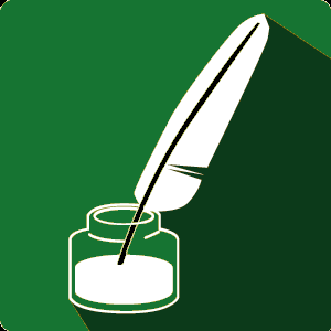 Greendale Brush and Quill Logo